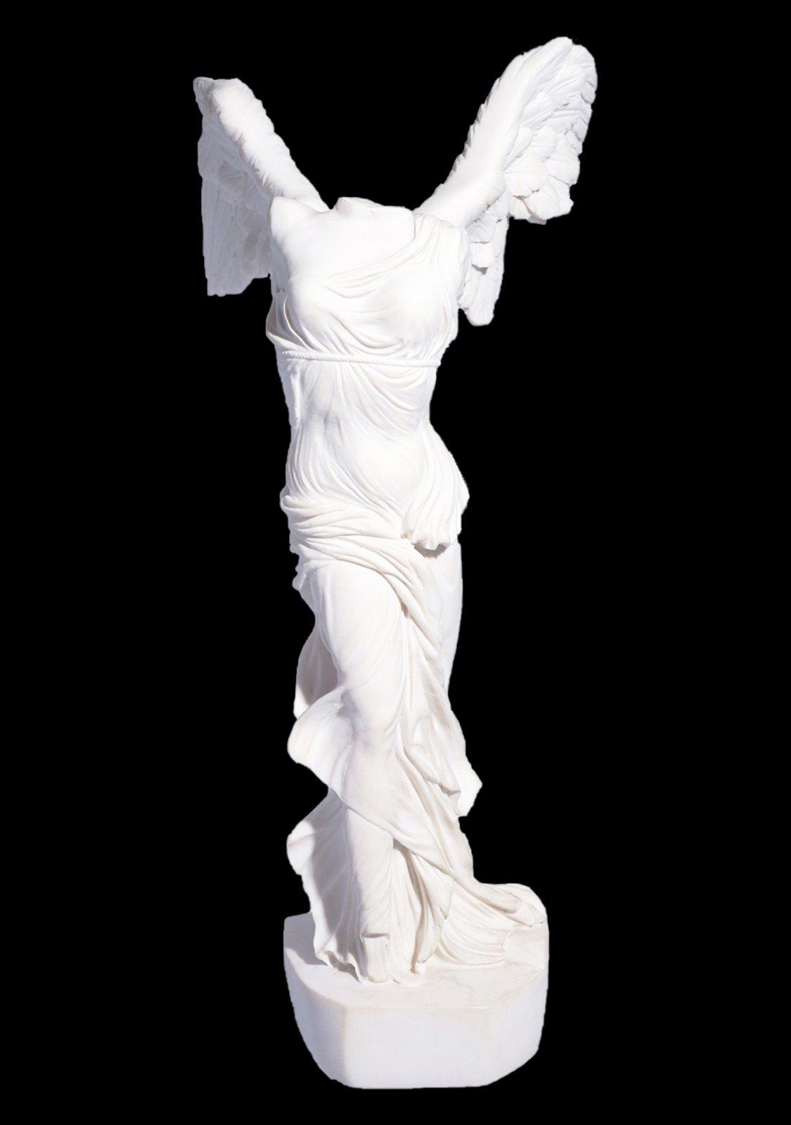 Nike of Samothrace, greek alabaster statue