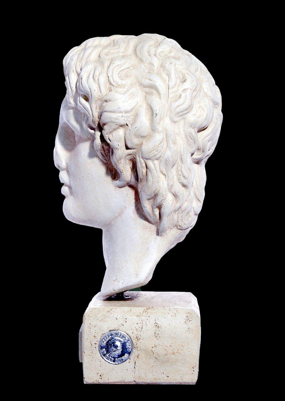 Alexander the Great greek plaster bust