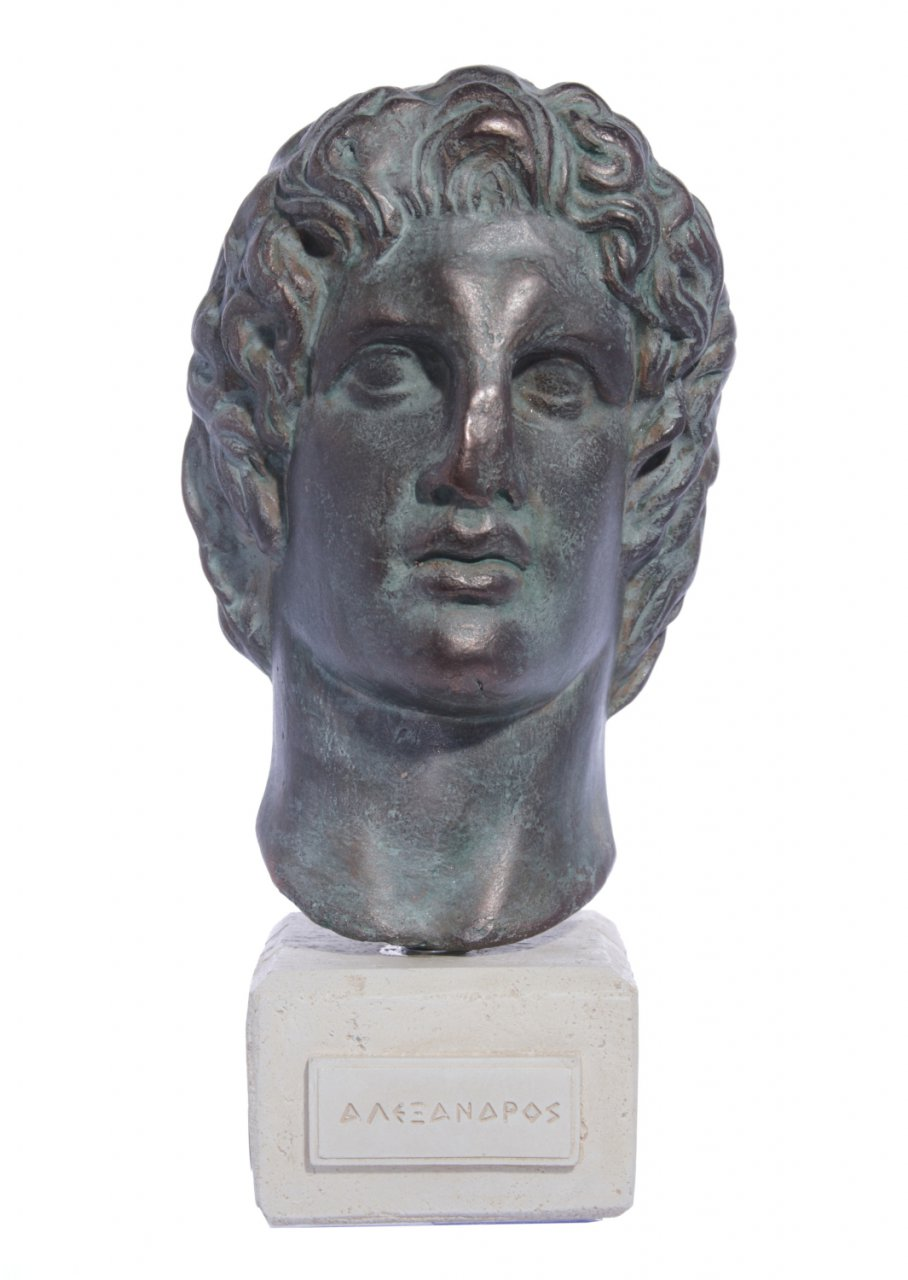 Plaster bust of Alexander the Great