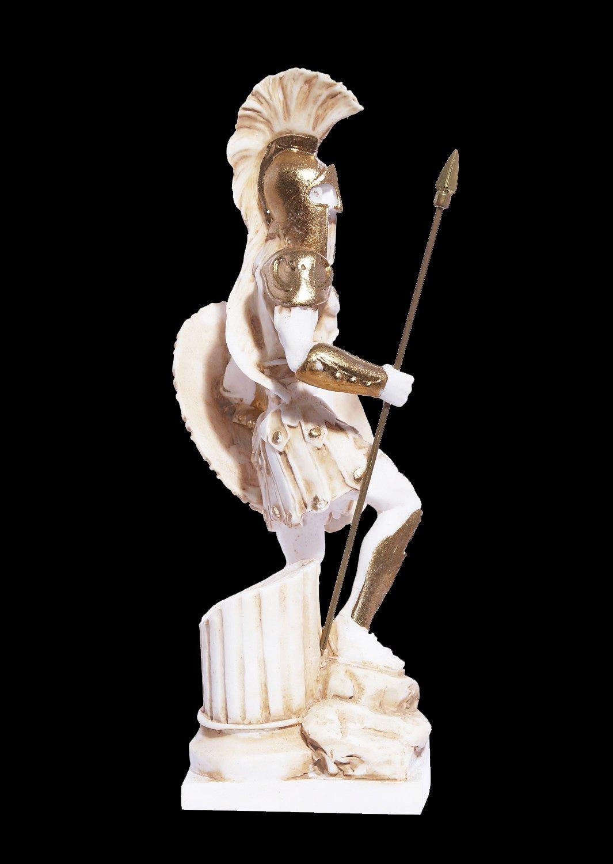 Ares god of war greek alabaster statue