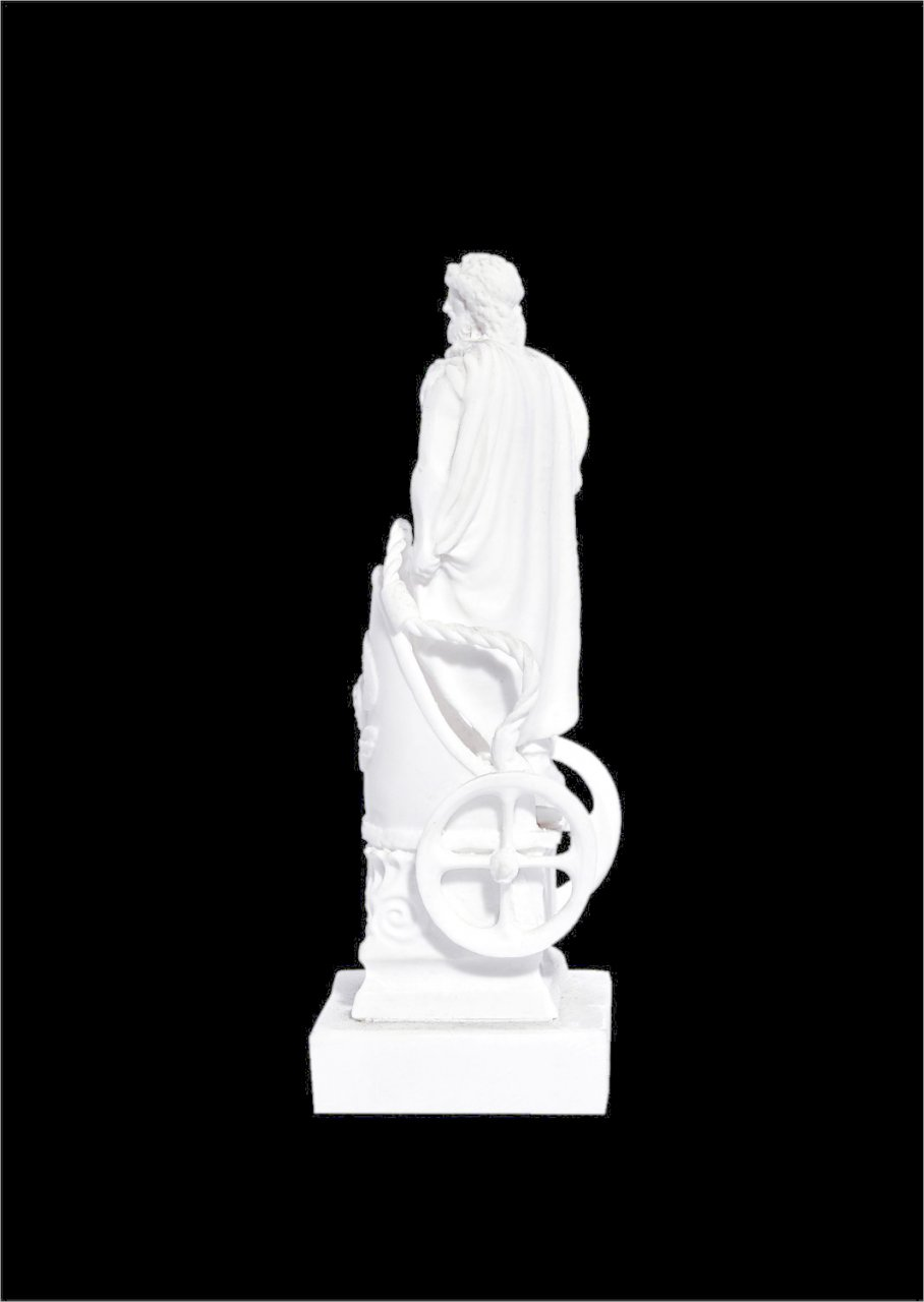 Ares greek alabaster statue