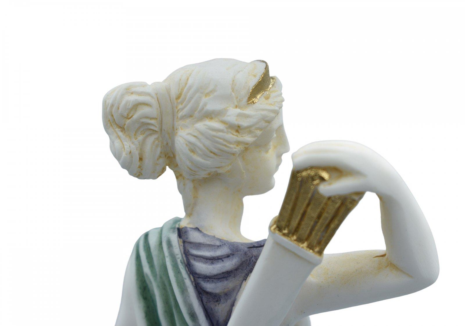 Artemis, goddess of the hunt, greek alabaster statue of Leoharis