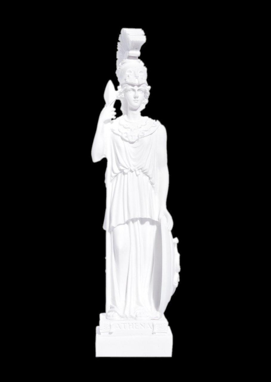 Greek alabaster statue of the goddess Athena