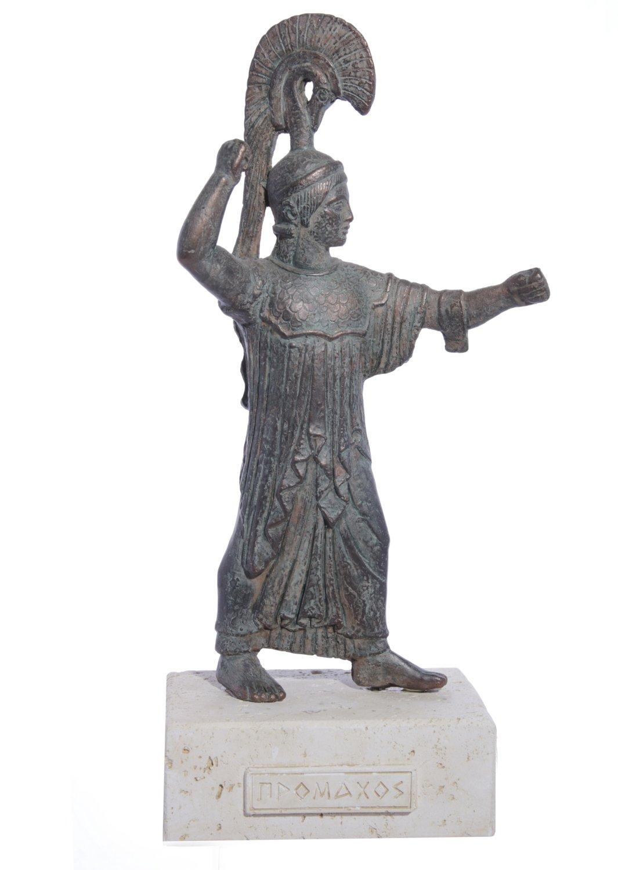 Athena Promachos greek plaster statue
