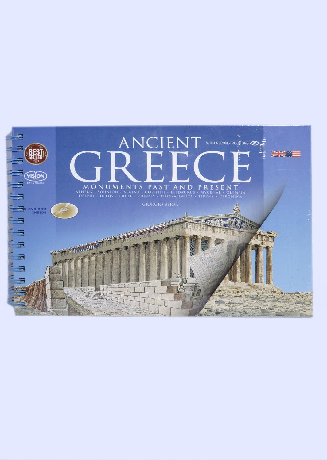 Past and present of ancient Greece book