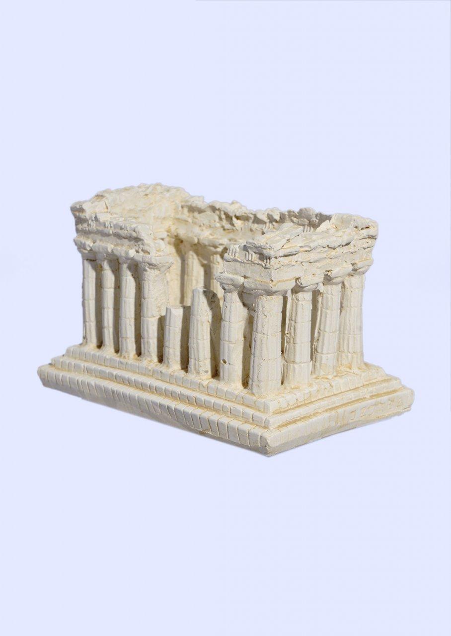 Parthenon of Acropolis medium plaster statue