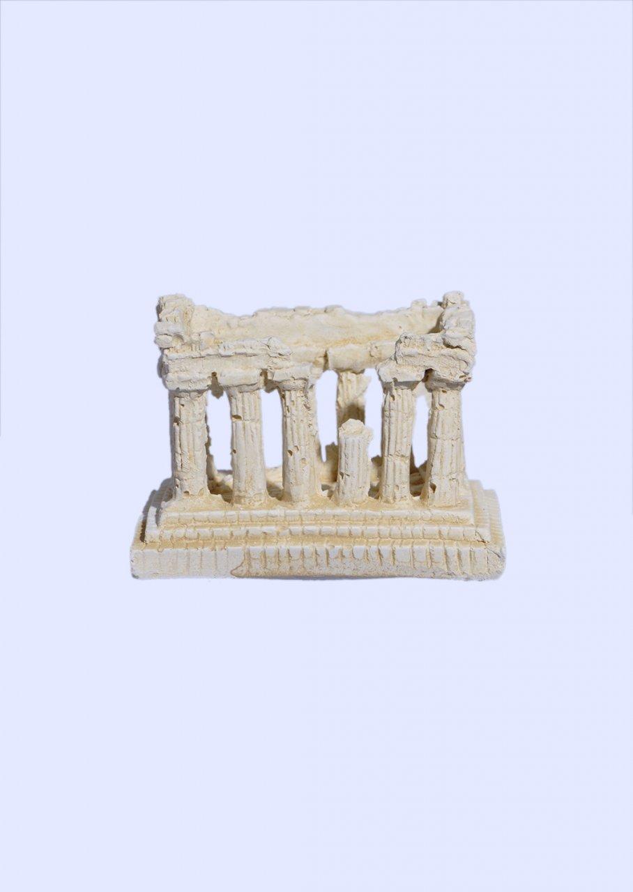 Parthenon of Acropolis small plaster statue