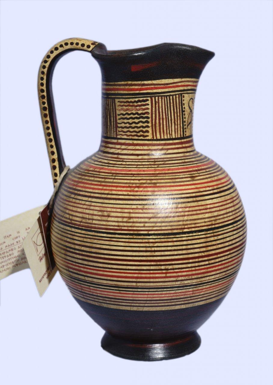 Handmade Minoan jug