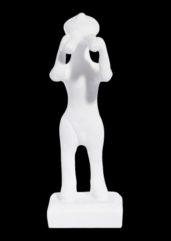 The Pipe Player greek cycladic art replica statue