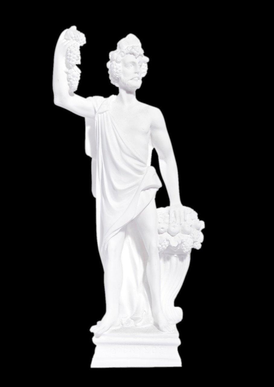 Greek alabaster statue of Dionysus