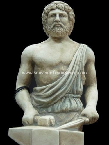 Hephaestus Greek Plaster Statue Plaster Statues Greek