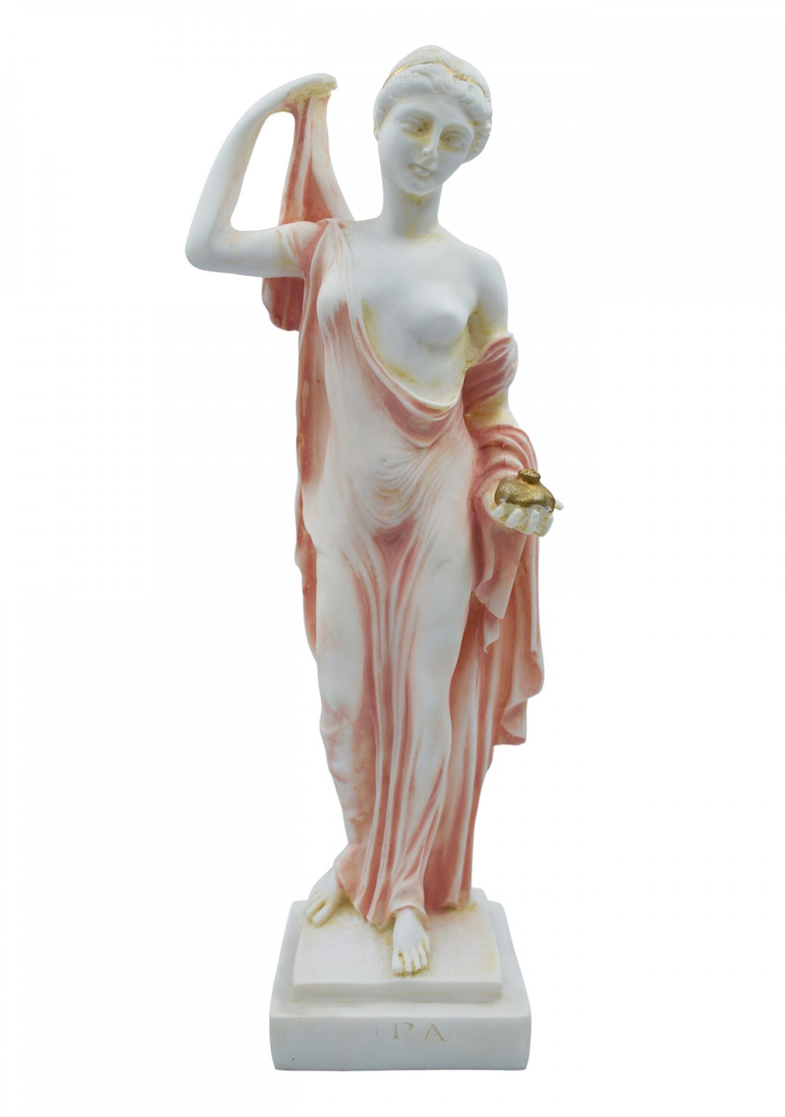 Hera, queen of gods and goddess of women and family, alabaster statue