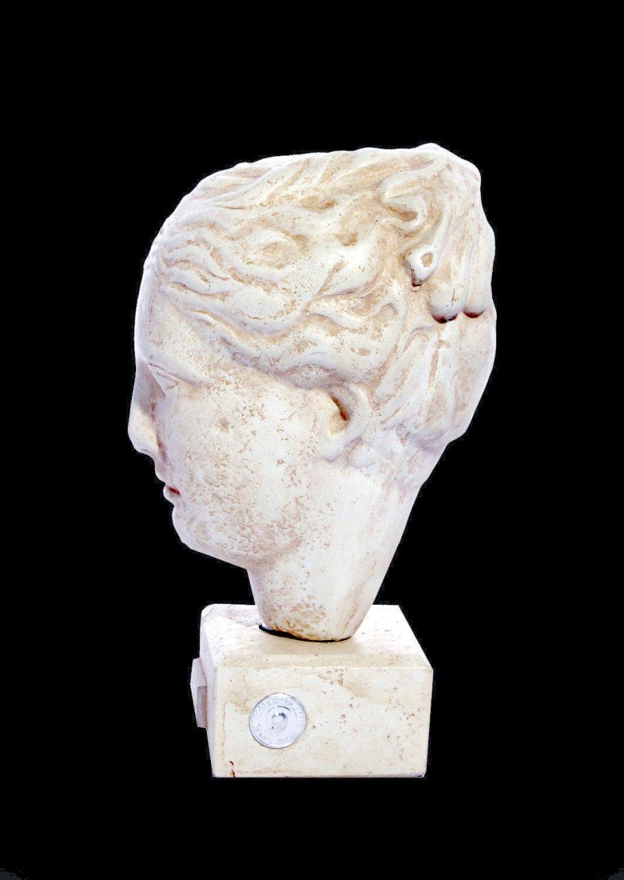 Hygieia (or Hygeia) greek plaster bust statue