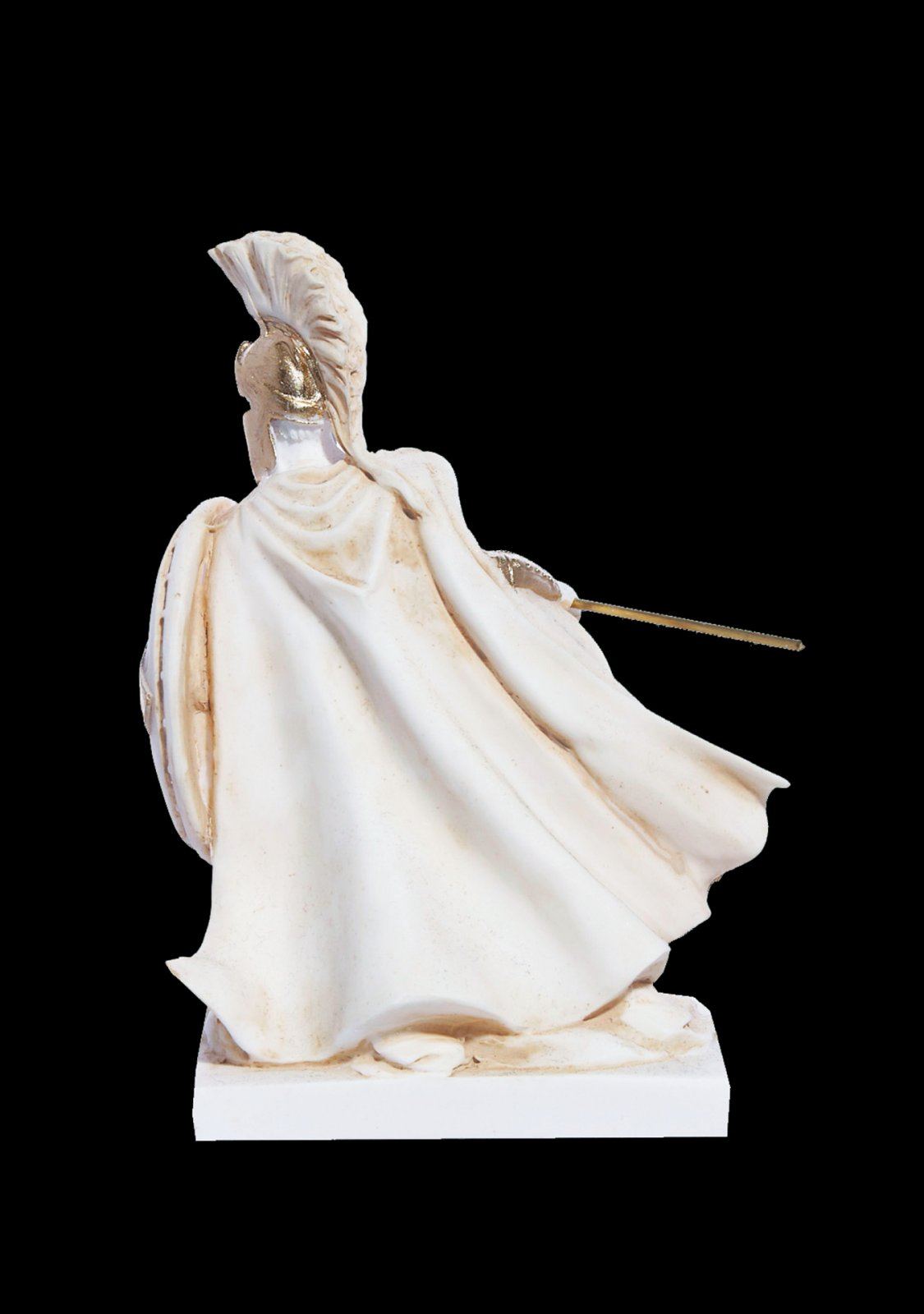 Leonidas Statue, King Of Sparta, Alabaster Sculpture