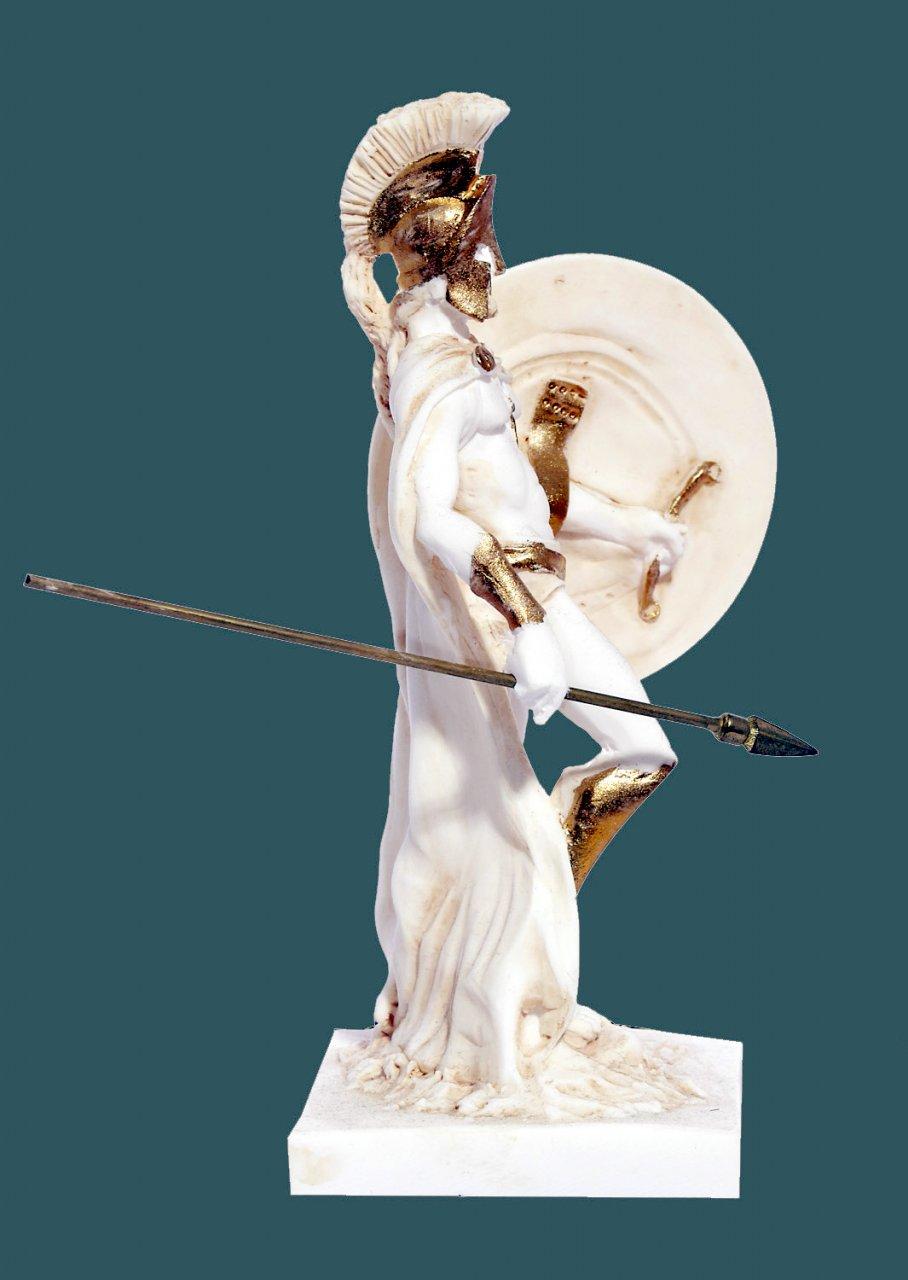 Leonidas king of the Sparta alabaster statue