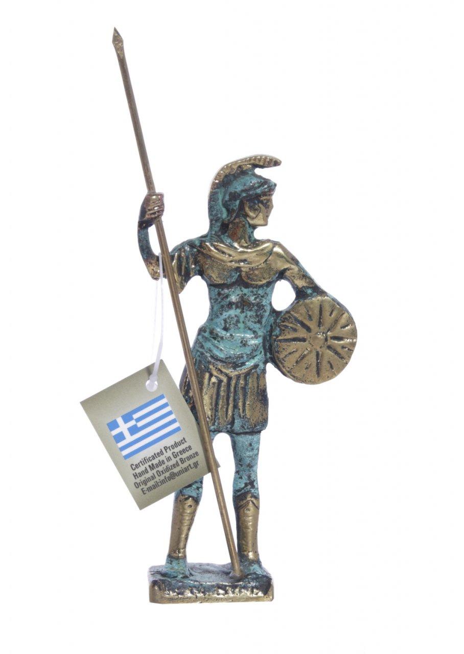 Bronze statue of a Macedonian Warrior