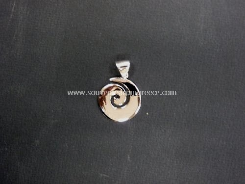Greek thick spiral pendant the symbol of life pendants greek greek thick spiral pendant the symbol of life greek jewellery pendants aloadofball Image collections