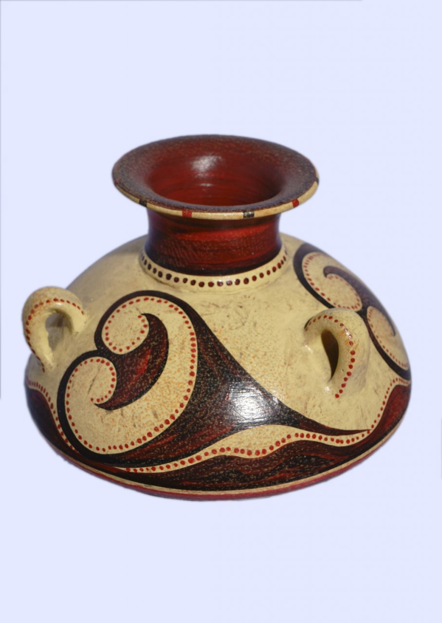 Minoan jar with 3 handles