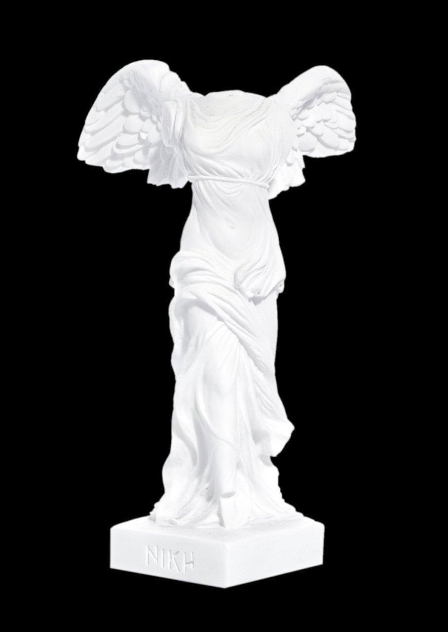 Nike of Samothrace greek alabaster statue
