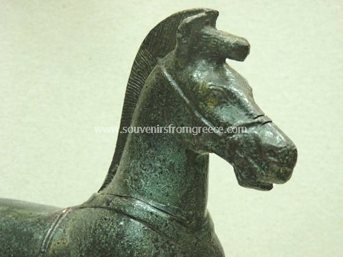 Olympia horse bronze statue Greek statues Bronze statues