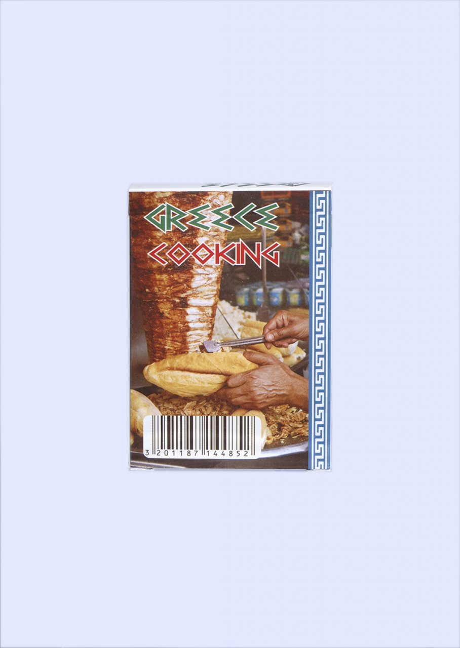 Greek Cuisine Playing Cards