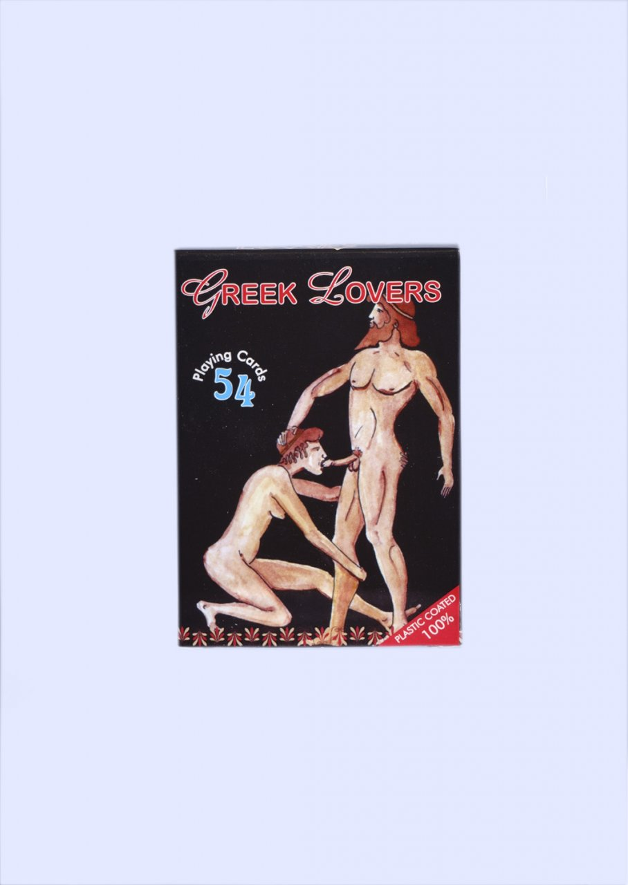 Greek Lovers Playing Cards (No.3)