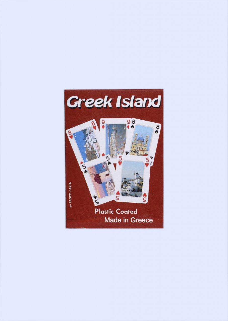 Greek Islands Playing Cards