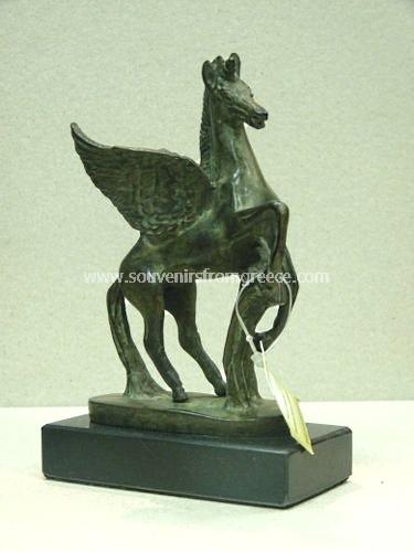 Bronze Statue Of Pegasus The Famous Creature Of Ancient