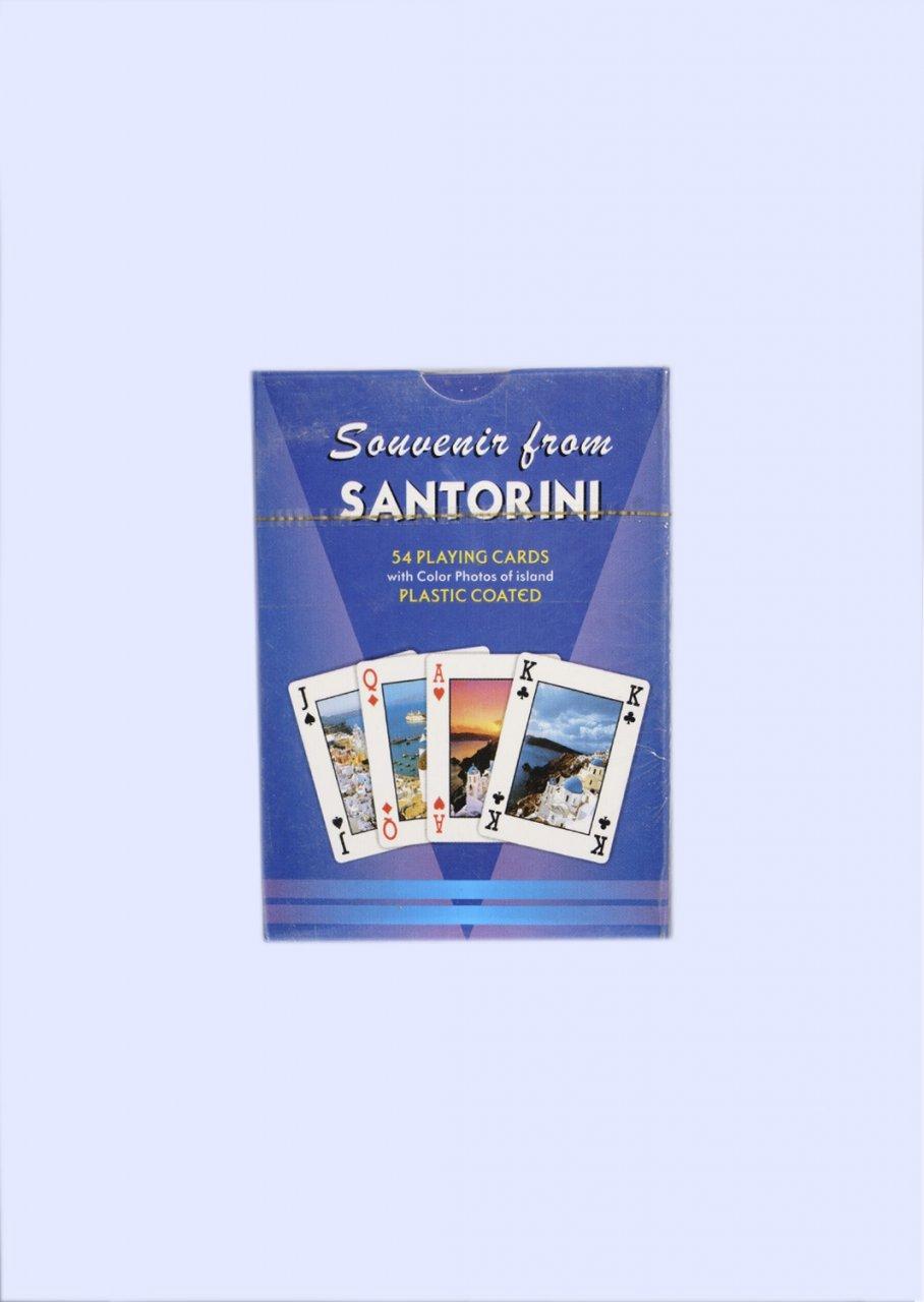 Santorini Playing Cards