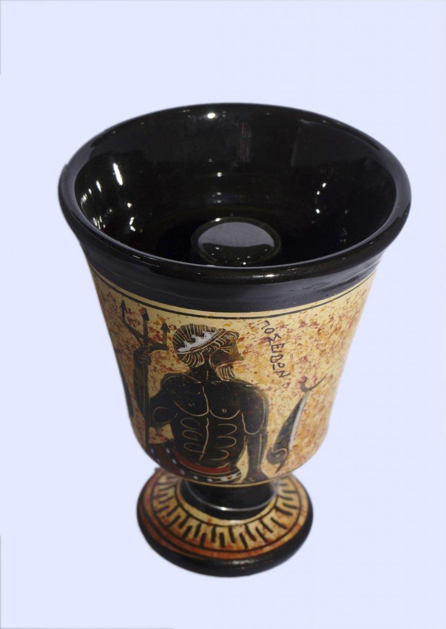 Pythagoras Ceramic Cup with Poseidon