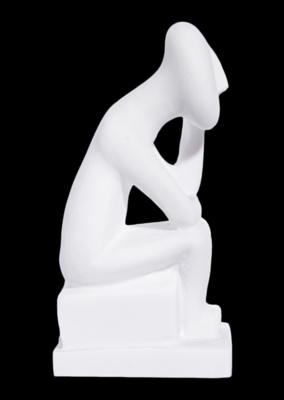 Thinker greek cycladic art statue