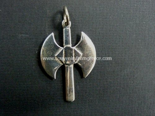 Double Axe Pelekis Greek Pendant Symbol Of Power Pendants