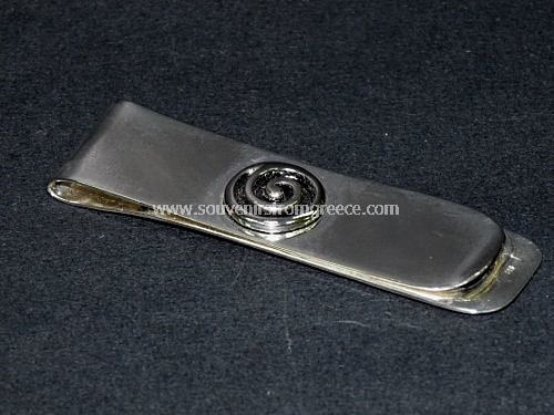 GREEK SPIRAL MONEY CLIP Greek jewellery Money clips