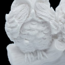 The three wise owls alabaster statue, the symbol of goddess Athena and wisdom 2