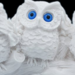 The three wise owls alabaster statue, the symbol of goddess Athena and wisdom 3
