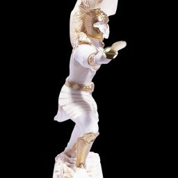 Achilles with his spear greek alabaster statue 2