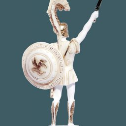 Achilles with sword and scabbard greek alabaster statue 2