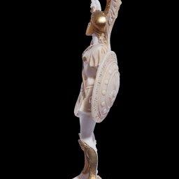 Achilles with sword greek alabaster statue 2