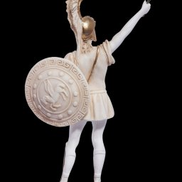 Achilles with sword greek alabaster statue 3