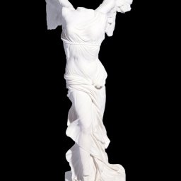 Nike of Samothrace, greek alabaster statue 1
