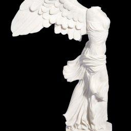 Nike of Samothrace, greek alabaster statue 2