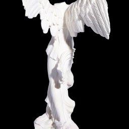 Nike of Samothrace, greek alabaster statue 3