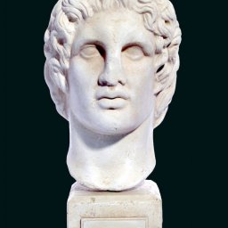 Alexander the Great greek plaster bust  1