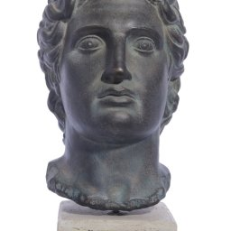 Alexander the Great large plaster bust  1