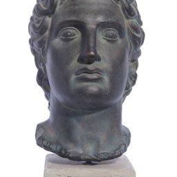 Alexander the Great medium plaster bust  1
