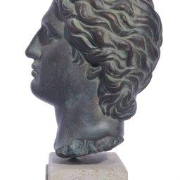 Alexander the Great medium plaster bust  2