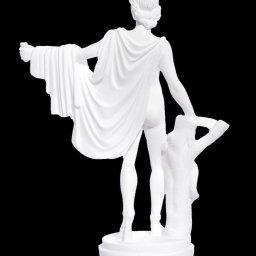 Apollo small greek alabaster statue 2