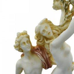 Apollo and Daphne of Lorenzo Bernini, greek alabaster statue with color 4