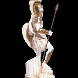Ares god of war greek alabaster statue 2