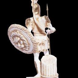 Ares god of war greek alabaster statue 3